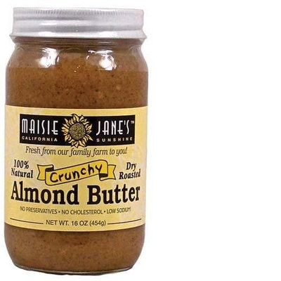 Maisie Jane's Almond Butter Crunchy, 16-Ounce (Pack of 2)