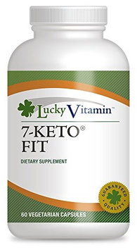 LuckyVitamin - 7-Keto Fit Weight Loss Support - 60 Vegetarian Capsules