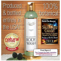 NaturOli Rich & Invigorating Body Wash - 8 oz. Award winning formulation! Luxurious for bath or shower. Wonderfully natural unisex scent. Calming & uplifting. - Sulfate & Gluten free! - Made in USA!