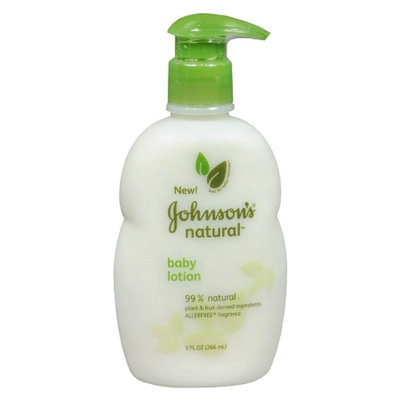 Johnson's® Natural Baby Lotion