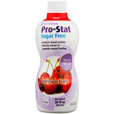 Pro-Stat Sugar Free, Wild Cherry Punch, 30 fl oz