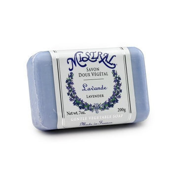 Mistral Shea Butter Soap, Lavender, 7-Ounce Bar