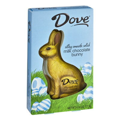 Dove Chocolate Silky Smooth Solid Milk Chocolate Bunny