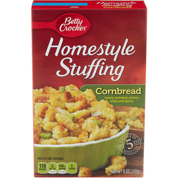 Betty Crocker Homestyle Cornbread Stuffing Mix, 6 oz