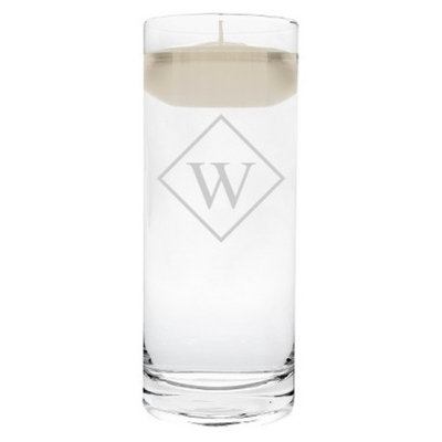 Cathy's Concepts Diamond Initial Floating Unity Candle W