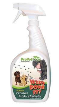 ProVetLogic V04-12MN Who Done It Trigger Single Pet Stain & Odor Remover Pack 12