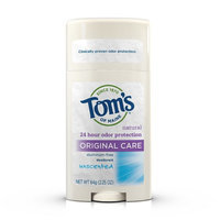 Tom's of Maine Original Care Natural Aluminum Free Deodorant Stick