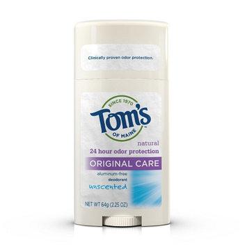 Tom's of Maine Original Care Natural Aluminum Free Deodorant Stick