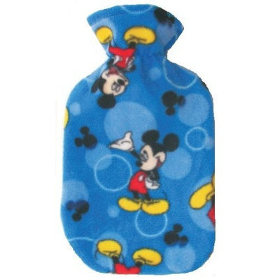 Warm Tradition Mickey Mouse Fleece Covered Hot Water Bottle- Bottle made in Germany, Cover made in USA