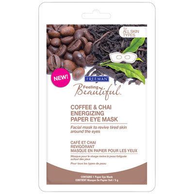 Freeman Beauty Feeling Beautiful™ Coffee & Chai Energizing Paper Eye Mask