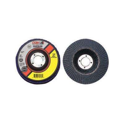 CGW Abrasives Flap Discs, Z-Stainless, Regular - 4-1/2x5/8-11 zs-60 t27 reg stainless flap disc
