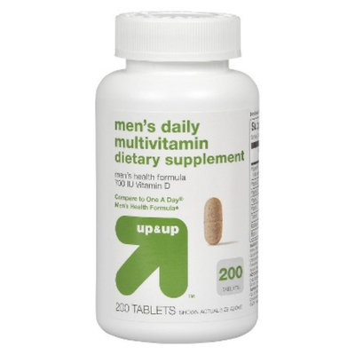 Up & Up Men's Daily Multivitamin 200-pk.
