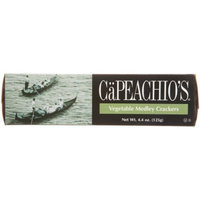Ca Peachio's Capeachio Vegetable Medley Crackers, 4.4-Ounce Boxes (Pack of 6)