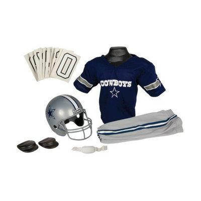 Franklin Sports NFL Cowboys Deluxe Uniform Set - Small