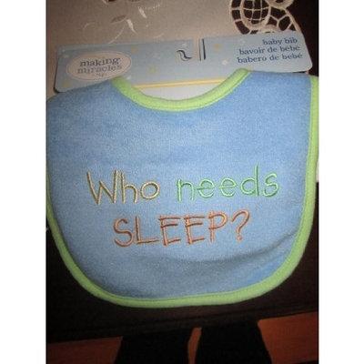 Nojo Who Needs Sleep? Baby Bib