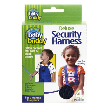 Baby Buddy Deluxe Security Harness with Tether and Chair Straps, Navy, 1 ea