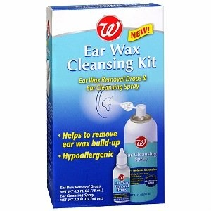 Walgreens Ear Wax Cleansing Kit