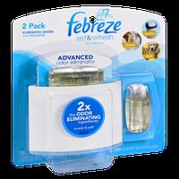 Febreze Set & Refresh Advanced Odor Eliminator Air Freshener - 2 PK