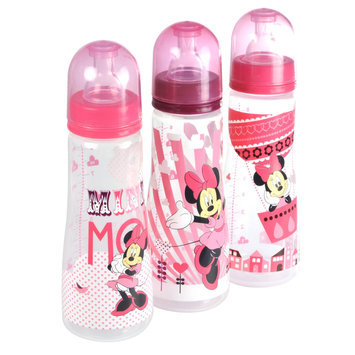 Disney Baby 3 Pack 8 Ounce Bottles Minnie Mouse - THE FIRST YEARS, INC.