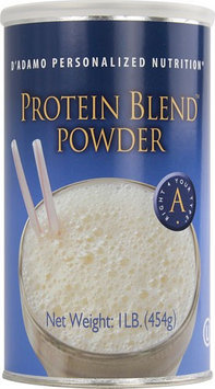 D'Adamo Personalized Nutrition Protein Blend Powder (Type A) 454g