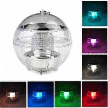 GGI International Floating Solar Color-Changing LED Pool Lights 3Pk, 1 ea