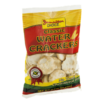 Jamaican Choice Crackers Classic Water