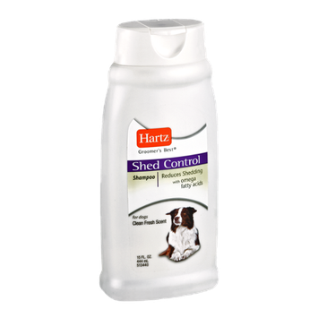Hartz Groomers Best Clean Fresh Scent Shed Control Shampoo for Dogs