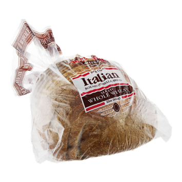 Paramount Bakeries Italian Bread Brick Oven Whole Wheat