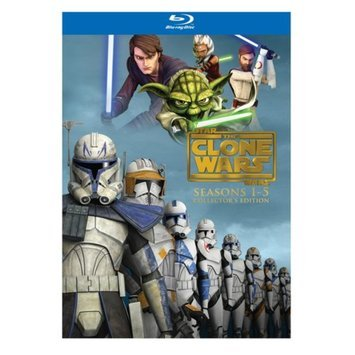 Star Wars: The Clone Wars - The Complete Seasons One - Five (Blu-ray) (Anamorphic Widescreen)