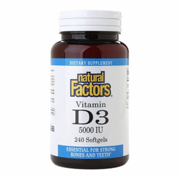 Natural Factors Vitamin D3 5