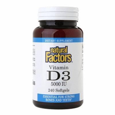 Natural Factors Vitamin D3 5