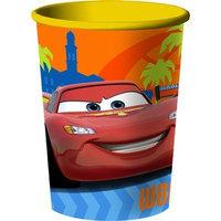hallmark Disney's Cars 2 - Grand Prix 16 oz. Plastic Cup Party Accessory (1 count)