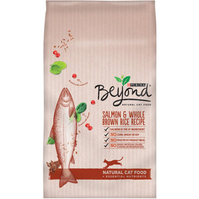 PURINA ONE® Beyond Natural Cat Food Salmon & Whole Brown Rice