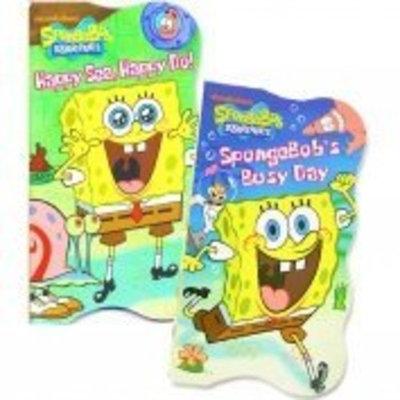 Nickelodeon SpongeBob SquarePants Shaped Board Books (Set of 2)