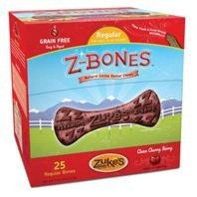 ZUKE'S PERFORMANCE PET NUTRITION 134083 25 Count Z-Bone Medium Cherry Berry Display Box, Medium
