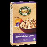 Nature's Path Organic Flax Plus Pumpkin Raisin Crunch