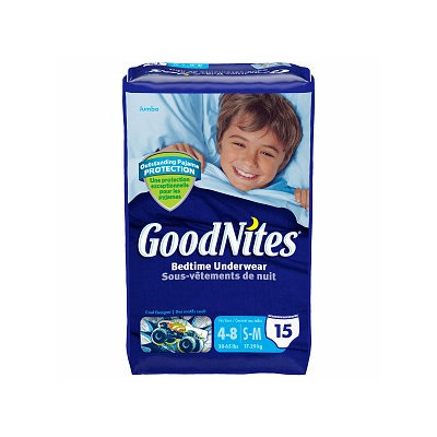 Goodnites Boys Underpants for Nighttime