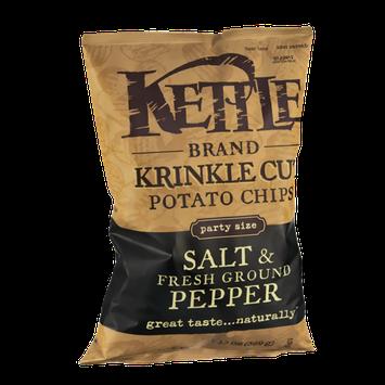 Kettle Brand® Krinkle Cut Salt & Fresh Ground Pepper Potato Chips
