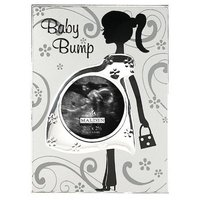 Malden Baby Bump Metal Baby Memories Picture Frame, 3