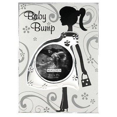 Malden Baby Bump Metal Baby Memories Picture Frame, 3