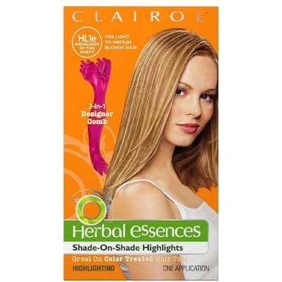 Clairol Haircolor, Highlight of the Party-Cool Blonde Highlights HL1E 1 ea