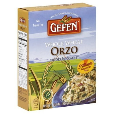 Gefen Rice, Orzo, Whole Wheat, 8.8-Ounce (Pack of 12)