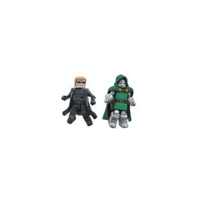 Diamond Comics Marvel Vs Capcom Minimates - Doctor Doom & Wesker (Resident Evil)