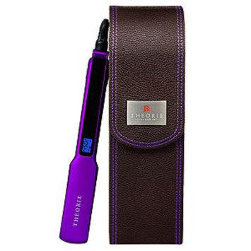 Theorie Saga Collection Flat Iron, Metallic Rubber, Purple, 1.5 inches, 1 ea