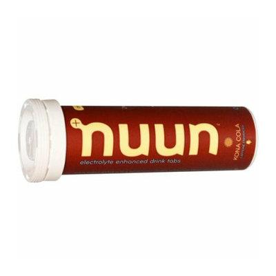 Nuun Hydration Electrolyte Enhanced Drink Tabs Kona Cola Case of 8 12 Tablets