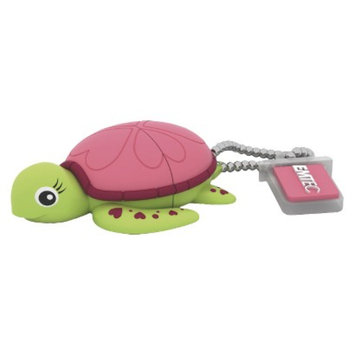 EMTEC Emtec Animalitos Lady Turtle M335 8GB USB Flash Drive - Multicolor