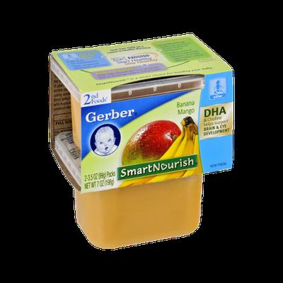 Gerber® Smart Nourish 2nd Foods Banana Mango