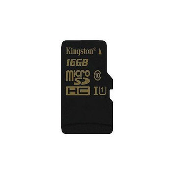 Kingston - Flash memory card ( microSDHC to SD adapter included ) - 16 GB - UHS Class 1 / Class10 - microSDHC UHS-I