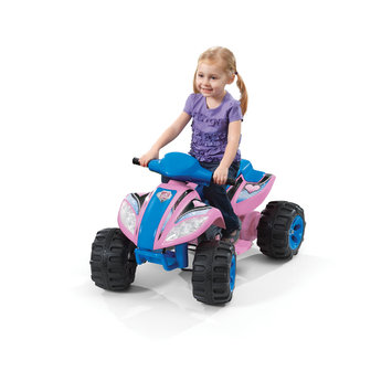 Fun Wheels Step 2 6V Pink Max Quad Battery Operated Ride On