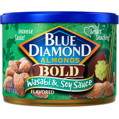 Blue Diamond® Bold Wasabi & Soy Sauce Almonds